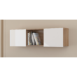 Sonoma világos / fényes fehér