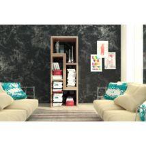 Top univerzális polc (tv asztal, polc, könyvespolc) sonoma világos