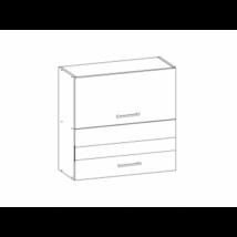 Kamala felső kétajtós szekrény felfelé nyíló ajtókkal