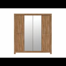 GERMAN szekrény 2 ajtóval, 2 tükörrel