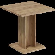 Bond II asztal arany craft tölgy