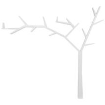Poprad könyvespolc fehér Balos