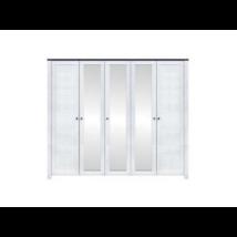 ANTVERPEN 5 ajtós akasztós szekrény Akció