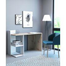 PACO 1 íróasztal Artisan tölgy / fehér