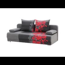 ZICO kanapé piros virágos
