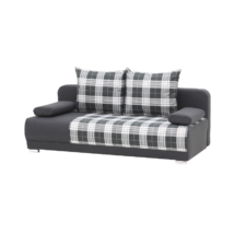 ZICO LUX kanapé szürke kockás