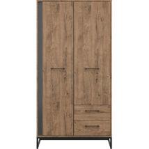LUTON akasztós szekrény 2 ajtóval és 2 fiókkal