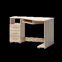Tatris17 íróasztal világos sonoma tölgy