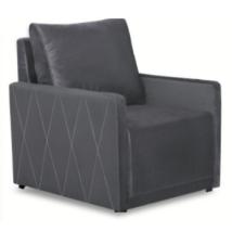 LOREN fotel szürke – kronos 22