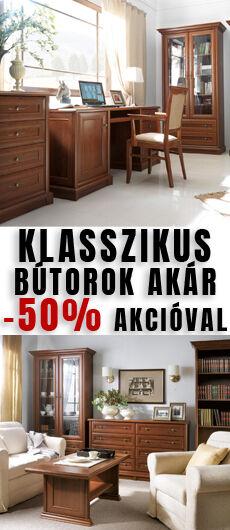 akciós klasszikus bútorok akár -50%