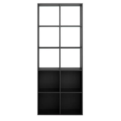 Modai Könyvespolc  2x5  Matt fekete