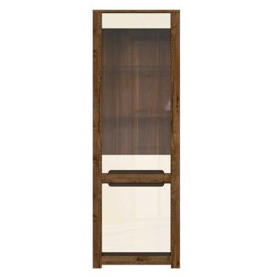 Ruso vitrin 1 üvegezett és 1 normál ajtóval