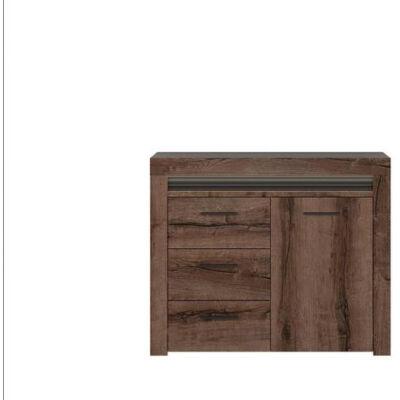 BAYLAR Komód 1 ajtóval és 3 fiókkal