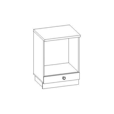 Febe 60cm sütős szekrény