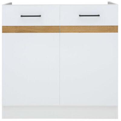 JUNO WHITE mosogatós szekrény 80 cm