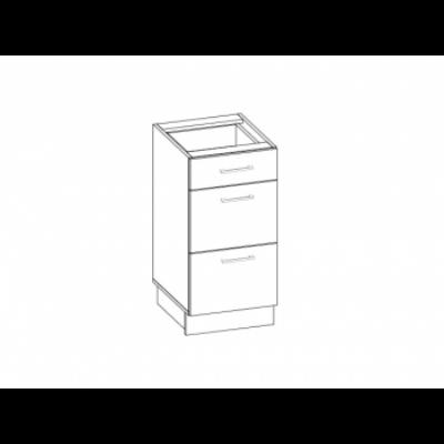 Kamala alsó fiókos szekrény