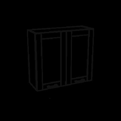 Jamajka 2 ajtós felső szekrény