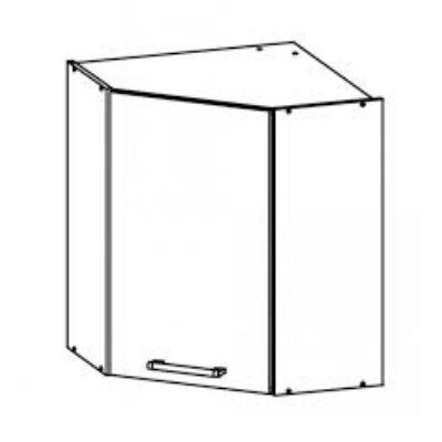 Modena 60cm felső sarok szekrény