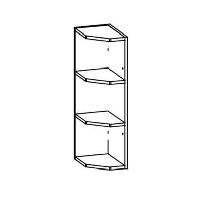 """""""Modern"""" 55,5cm nyitott polcos alsó szekrény"""