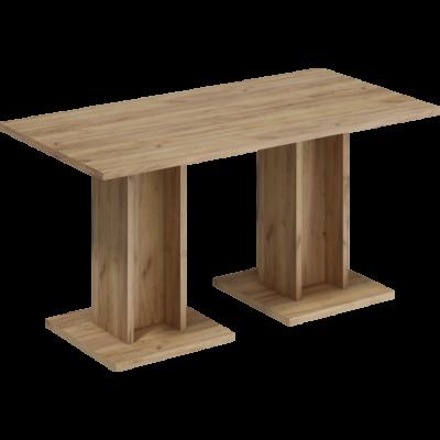 Bond I asztal arany craft tölgy