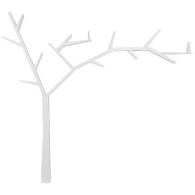 Poprad könyvespolc fehér