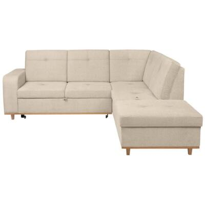 CABRAS Sarok kanapé bézs