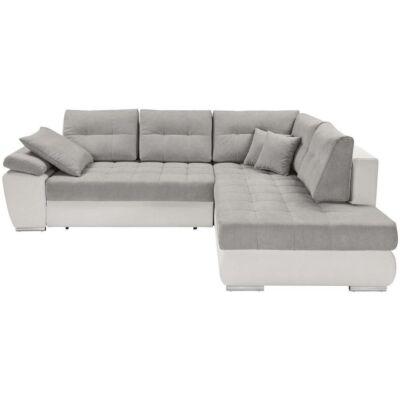 CARL Sarok kanapé fehér – szürke