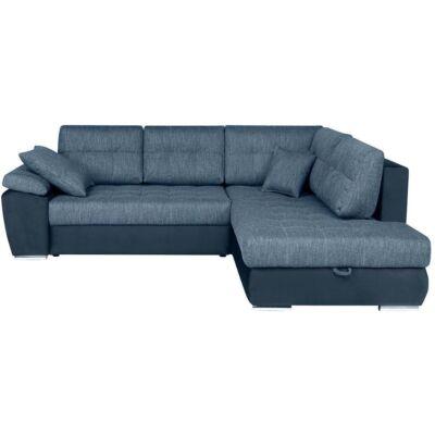 CARL Sarok kanapé acélszürke