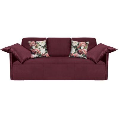 CLARC II LUX 3DL kanapé bordó