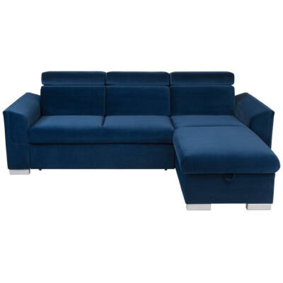EVIA Sarok kanapé kék