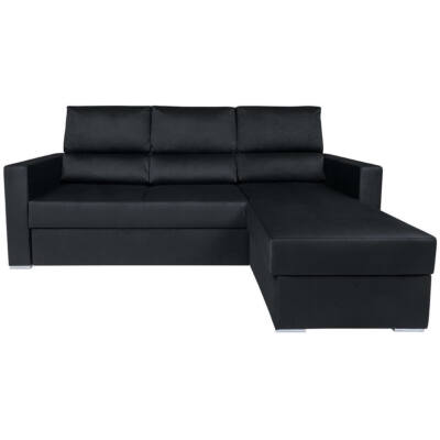 MORANT Sarok kanapé fekete