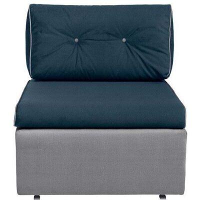 TETI kanapéágy Kék – szürke