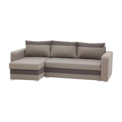 Aleksander L alakú kanapé barna