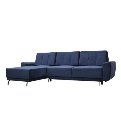 Massimo L alakú kanapé kék