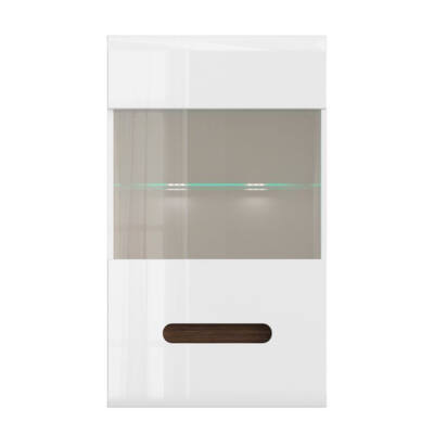 Azteca Trio fali szekrény 1 üvegezett ajtóval