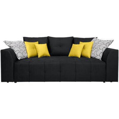 Royal IV kanapé, fekete