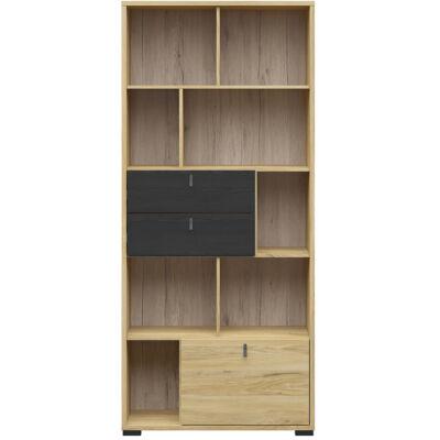 Rodes könyvszekrény 1 ajtóval és 2 fiókkal