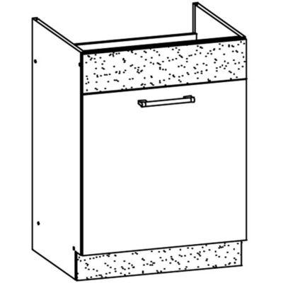 """""""Modern"""" 60cm mosogatós szekrény Sonoma"""
