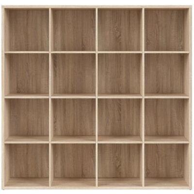 NEPO PLUS Könyvespolc 4x4  Sonoma