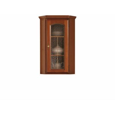 BAWARIA sarok rátét szekrény gesztenye/olasz dió színben