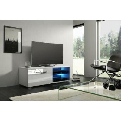 Moon 100 TV-állvány fehér / Fényes fehér