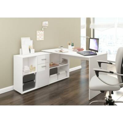 Beat íróasztal Fényes fehér