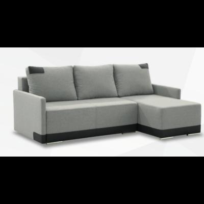 JAZZ Sarok kanapé Világos szürke