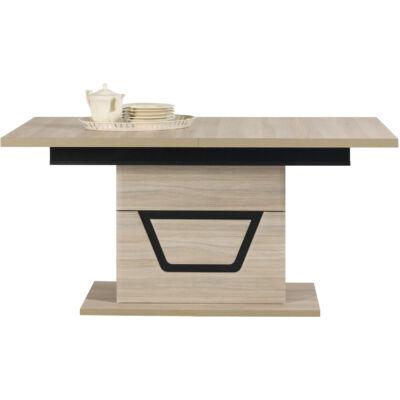 TES étkezőasztal szilfa